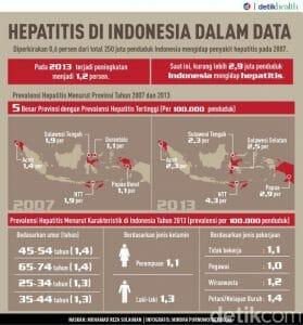 data penyakit hepatitis di indonesia