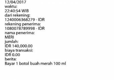 bukti transaksi 109