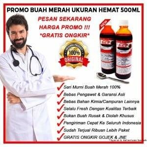 promo buah merah papua 2018 2