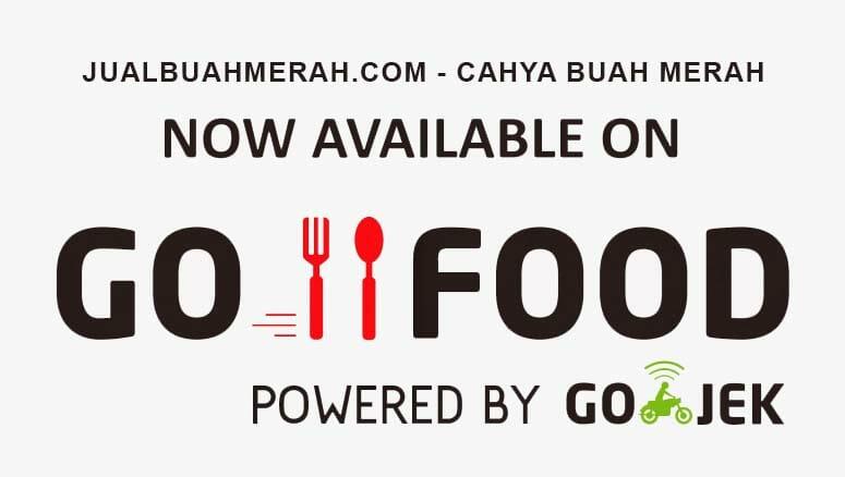 BELI BUAH MERAH DENGAN GO-FOOD