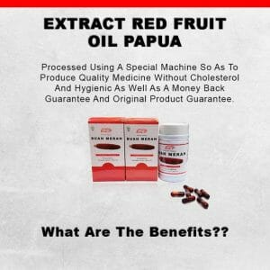 Sell Capsule Red Fruit Oil Papua Singapore H1A