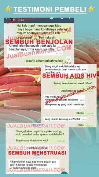 Testimoni Sembuh buah Papua Benjolan Aids Hiv Menstruasi